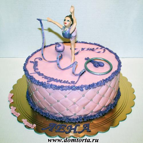 Гимнастка из мастики мастер класс