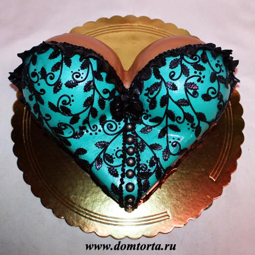 Торт-грудь фото